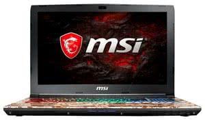 Ноутбук MSI GE62VR Camo Squad Limited Edition 7RF