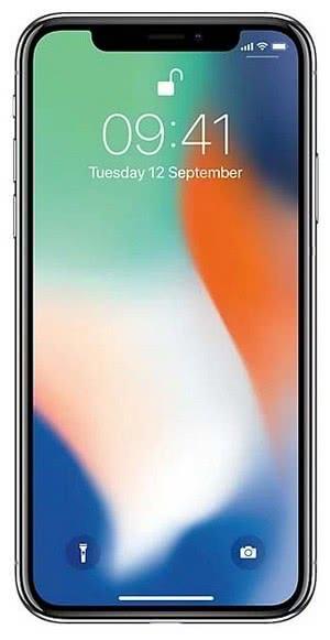 Смартфон Apple iPhone X 64GB восстановленный