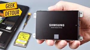 SSD от Samsung славятся своей надежностью и скоростью!