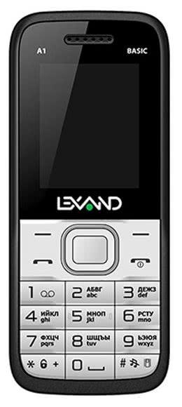Телефон LEXAND A1 Basic