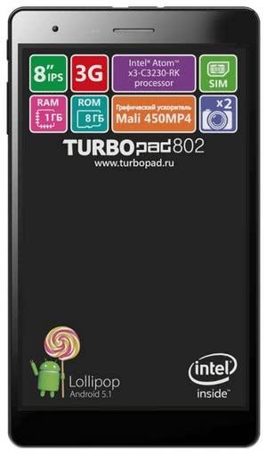 Планшет TurboPad 802i