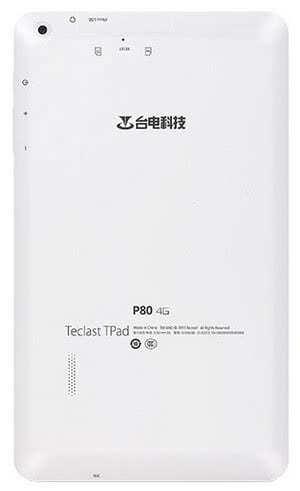 Планшет Teclast P80 4G