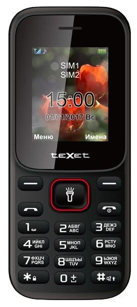 Телефон teXet TM-128
