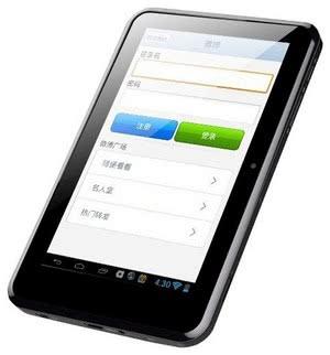 Планшет ZTE E7 8Gb 3G