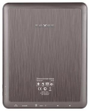 Планшет teXet ТВ-823A
