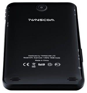 Планшет TWINSCOM G70