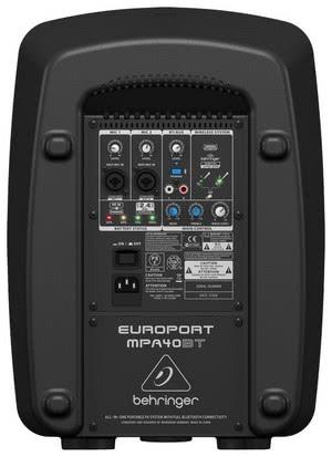 Акустическая система BEHRINGER EUROPORT MPA40BT