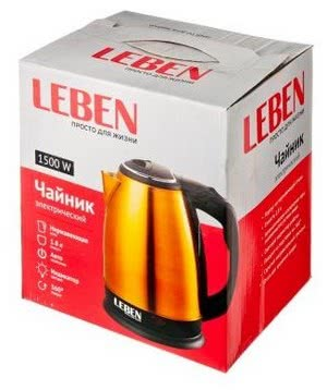Чайник Leben 291-017/018/019