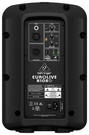 Акустическая система BEHRINGER Eurolive B108D