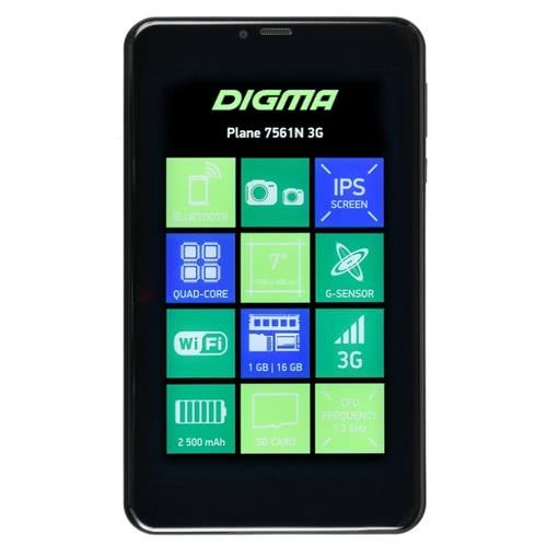 Планшет DIGMA Plane 7561N 3G V2 (2018)