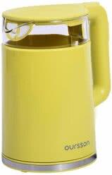 Электрический чайник, Oursson, Зеленое яблоко, EK1733WD/GA