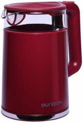 Электрический чайник, Oursson, Темная вишня, EK1732W/DC
