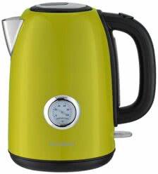 Электрический чайник, Oursson, Зеленое яблоко, EK1752M/GA