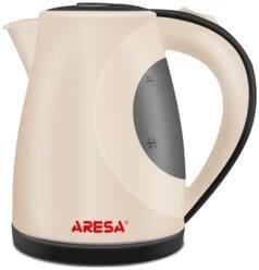Чайник электрический ARESA AR-3456 1л нержавейка бежевый
