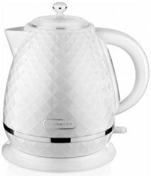 Чайник электрический BRAYER BR1008WH, 2200 Вт, 1,7 л, Strix, автоотключение, термостатический пластик