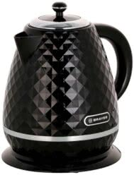 Чайник электрический BRAYER BR1008BK, 2200 Вт, 1,7 л, Strix, автоотключение, термостойкий пластик